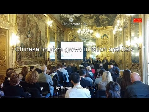20171006 Chinese tourism grows in Milan and Italy