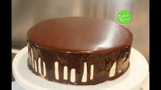 Easy Chocolate Glaze recipe - Cách làm Sôcôla Tráng Gương đơn giản