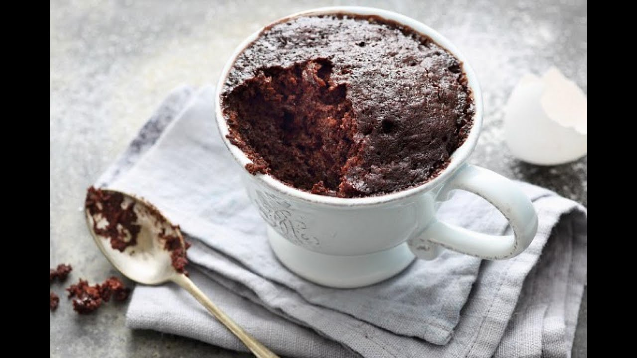 Without Egg Mug Cake / Egg less Cup Cake - YouTube