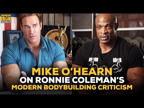 """Mike O'Hearn On Brandon Curry & Modern Bodybuilding Criticism: """"Ronnie Has A Point"""""""
