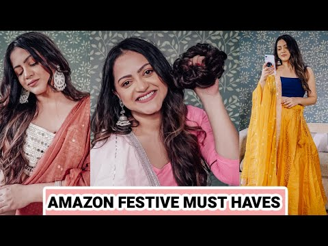 AMAZON FESTIVE HAUL part 2 | AMAZON Great Indian Festival sale | GoGlam