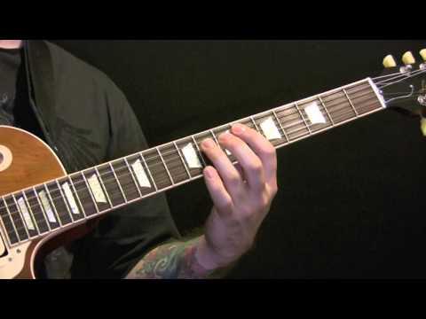 Sepultura Territory Guitar Tutorial