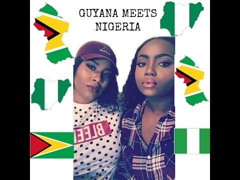 ETHNICITY TAG (GUYANA MEETS NIGERIA)