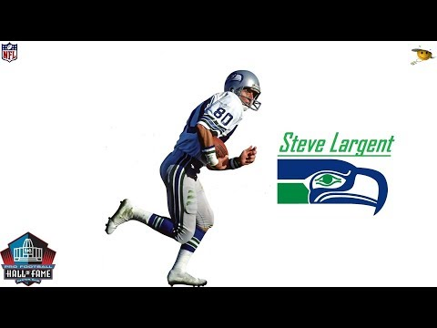 Steve Largent (Arguably The Best Hands in NFL History) NFL Legends