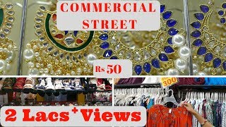 Commercial Street Bangalore -Shopping Guide