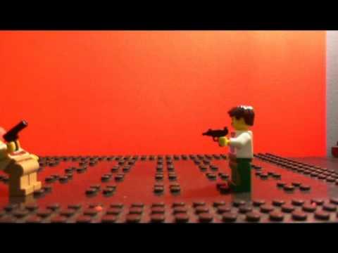 Lego Gun Blood Game