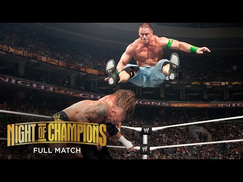FULL MATCH: Randy Orton vs. John Cena vs. Triple H – WWE Title Match: WWE Night of Champions 2009