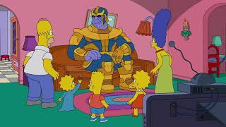 Los Simpsons Avengers Infinity War (Capitulo Completo)Thanos en los Simpson