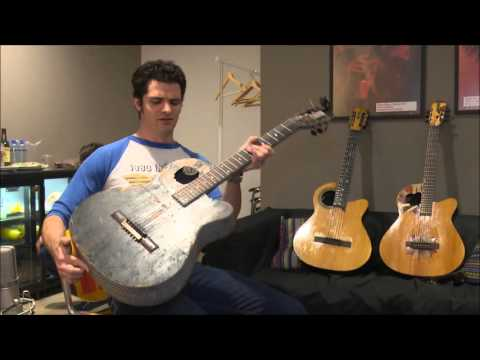 Indiegogo Extended version: Mark Lettieri / Klijnsmit musical instruments Hybrid guitar.