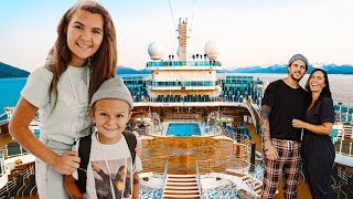OUR UNFORGETTABLE FAMILY TRIP TO ALASKA ON A LUXURY CRUISE SHIP!!