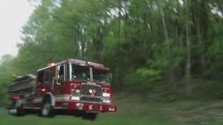 Bedford Fire Department Engine 1 Responding