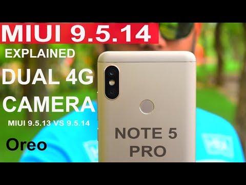 Redmi Note 5 Pro - MIUI 9.5.14 update #EXPLAINED#PORTRAIT MODE# COMPARISON