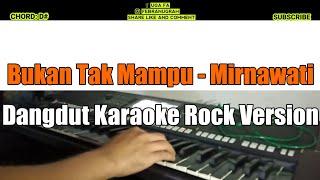 Dangdut Bukan tak mampu karaoke rock-dut version keyboard psr s970