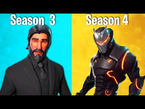 RANKING EVERY SKIN IN FORTNITE SEASON 4 FROM WORST TO BEST (season 4 Battle Pass Ranking)