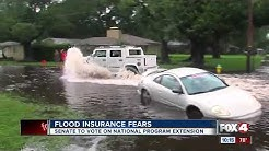 The National Flood Insurance program passes but now up to the Senate