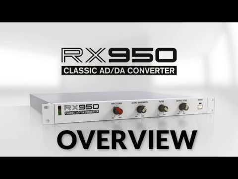 RX950 Classic AD/DA Converter Plugin By (Mathieu Demange) Overview