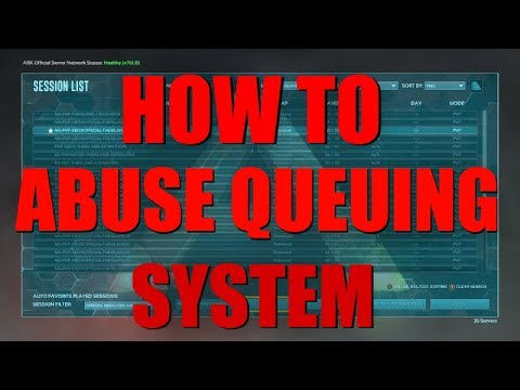 HOW TO JOIN OFFICAL SERVERS FASTER! - ABUSING QUEUE SYSTEM! (NEW ARK GLITCH!)