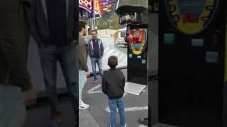 Osmanlı vuruşu rekor boks makinesi.
