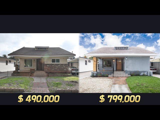 SOUTH LA 단독주택 리모델링/플리핑 30만불 주택가치 상승