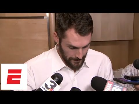 Kevin Love gives update on thumb he injured in fourth quarter of Game 2 vs. Pacers | ESPN
