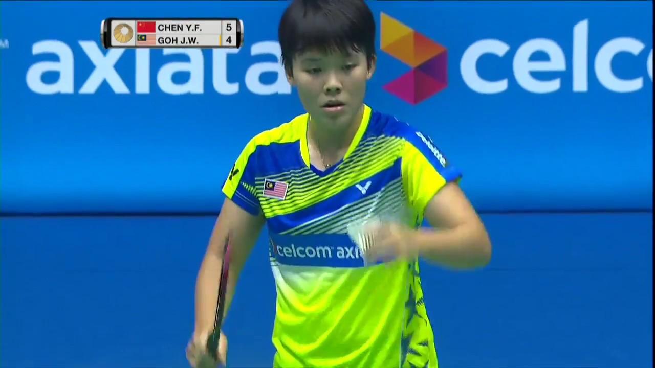 Cel Axiata Malaysia Open 2017 Badminton R16 M4 WS