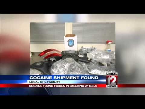 Cocaine found hidden in steering wheels