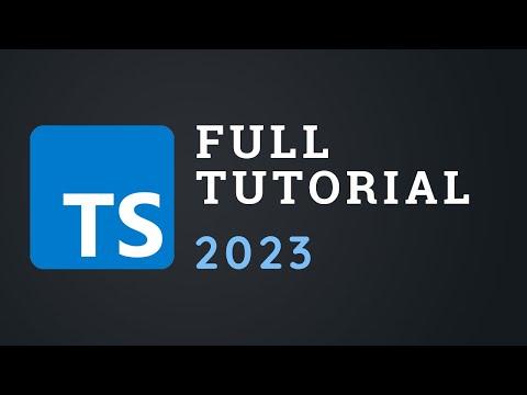 TypeScript Course For Beginners 2020 - Learn TypeScript From Scratch!