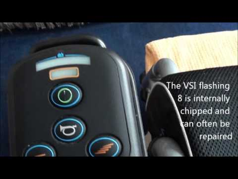Electric Wheelchair fix VSI Joystick Controller repair 8 LED's Flashing on