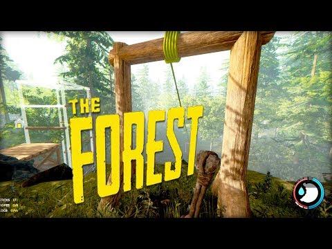 EPIC SURVIVAL BASE! PLANE CRASH SURVIVAL?! #6 (The Forest)