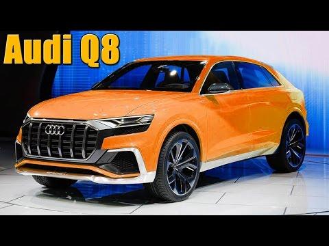 Обзор новой Audi Q8 концепт! (дизайн, характеристики, разгон, технологии)