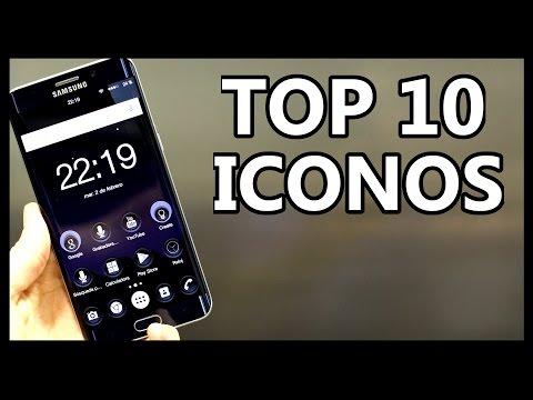 Mejores PACKS DE ICONOS para Tu Android