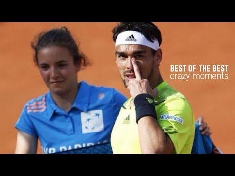 Best Tennis. Fabio Fognini - Crazy Moments