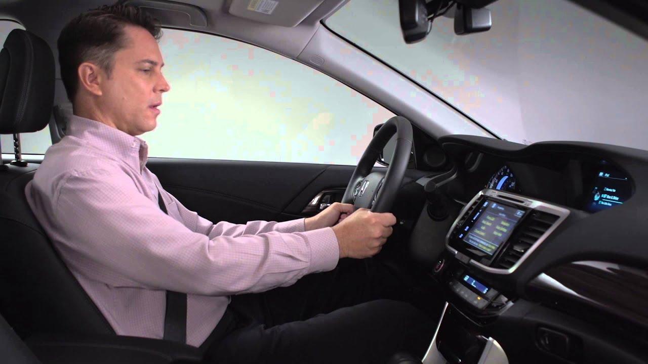Honda Accord: Voice Control System