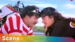 Ravichandran And Juhi Chawla Romantic Scene | Prema Loka | Comedy Scenes | Kannada Superhit Movie