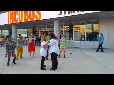 "Flashmob New Orleans - Bruno Mars ""Marry Me"" Marriage Proposal @ Smoothie KIng Center New Orleans"