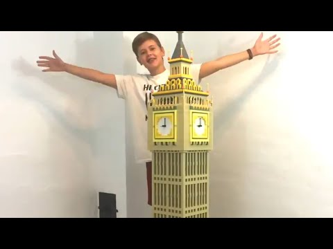 Building Big Ben with Lego Bricks!