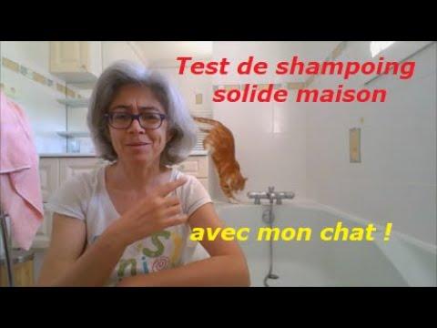 Test De Shampoing Solide Maison... Avec Mon Chat !