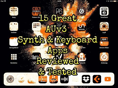 15 Great AUv3 Synth and Keyboard Apps for the iPad - Reviewed & Tested
