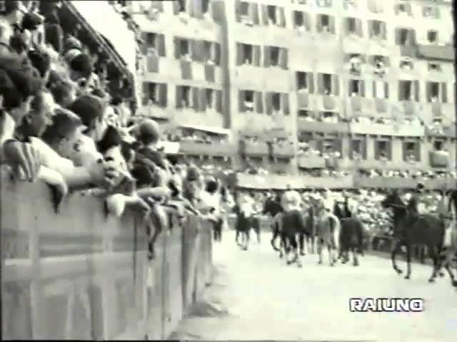 Palio 2 luglio 1967