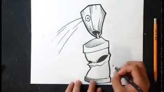 comment dessiner bombe de peinture graffiti free download video mp4 3gp flv tubeid net. Black Bedroom Furniture Sets. Home Design Ideas