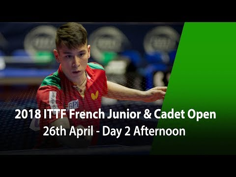 2018 French Junior & Cadet Open - Day 2 Afternoon