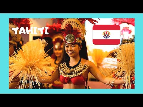 TAHITI, beautiful dancing at the most exotic island in the world (Pacific Ocean)