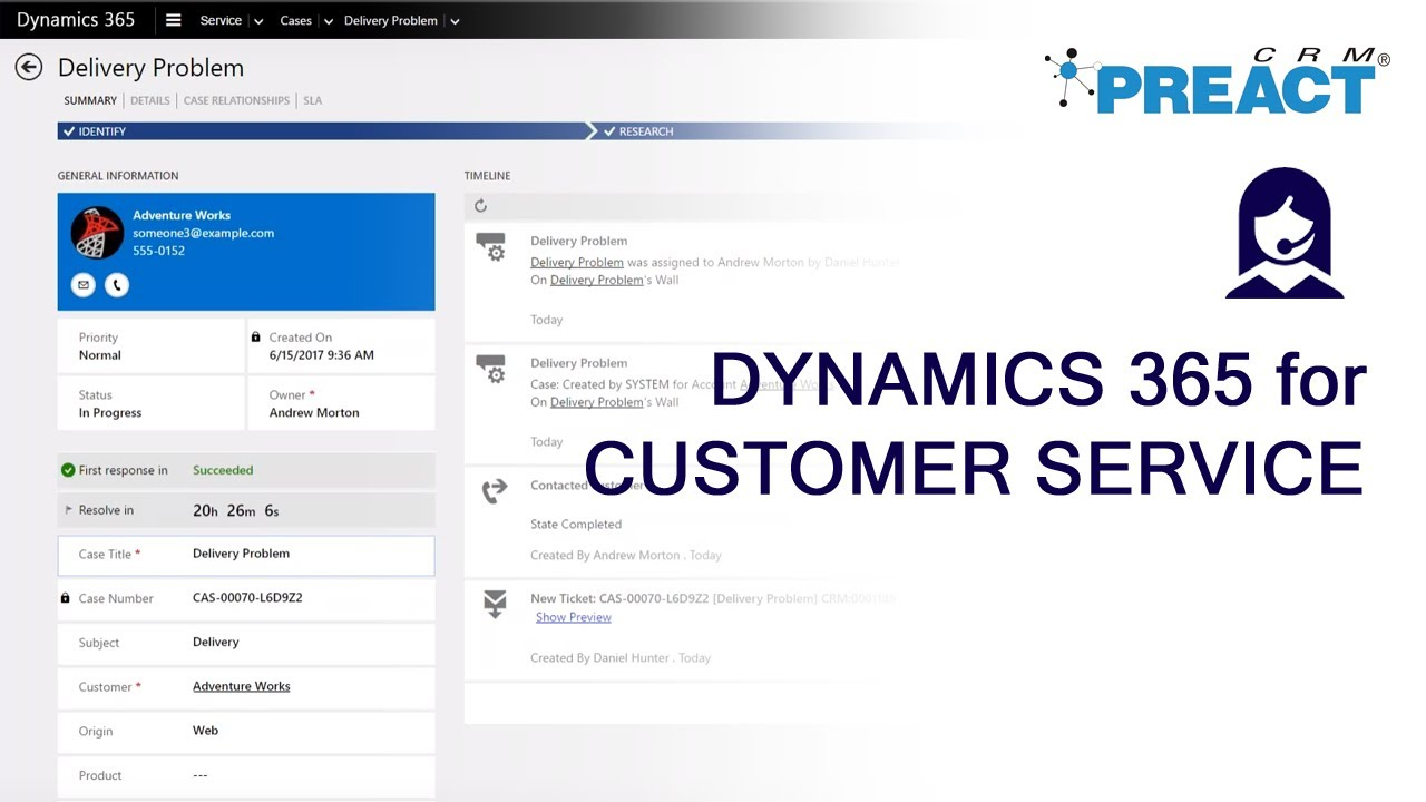 Microsoft Dynamics 365 / CRM Webinar Demonstrations