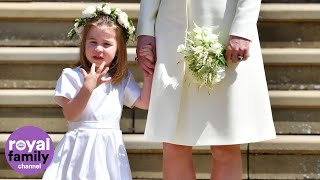 Princess Charlotte celebrates her fourth birthday