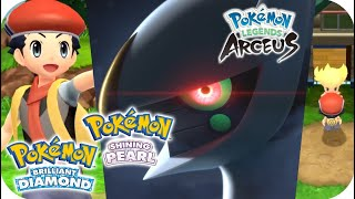 Pokémon Brilliant Diamond & Shining Pearl - All Important Trailers (Pokémon Legends Arceus)