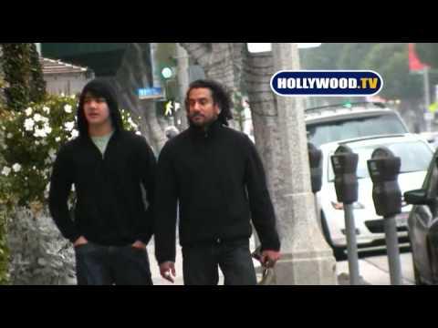 EXCLUSIVE: Naveen Andrews in Los Angeles.