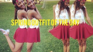 Spring Outfit of the Day Thumbnail