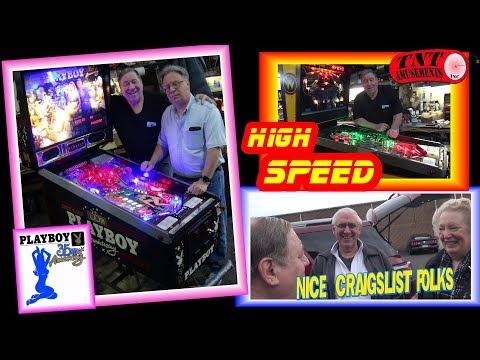 #1338 Data East PLAYBOY 35th ANNIVERSARY Pinball Machine & Nice CRAIGSLIST FOLKS! TNT Amusements
