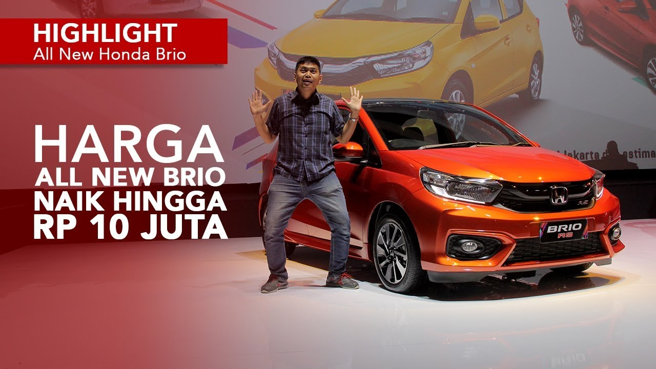 Harga Resmi All New Honda Brio Dirilis Youtube