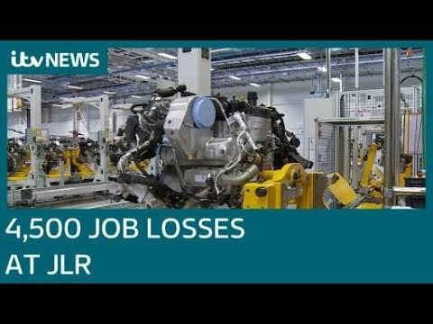 4,500 jobs are to go at Jaguar Land Rover | ITV News